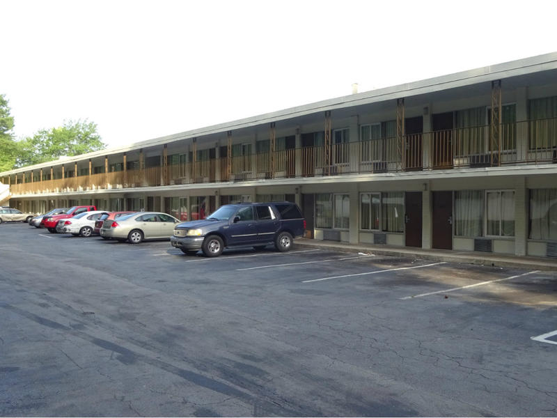 The Budgetel Inn on Fulton Industrial Blvd. in Southwest Atlanta is home to many who are one step away from living on the streets. Georgia's new $5 a night hotel tax has an exemption for stays longer than 30 days, but both hotel operators and guests remai