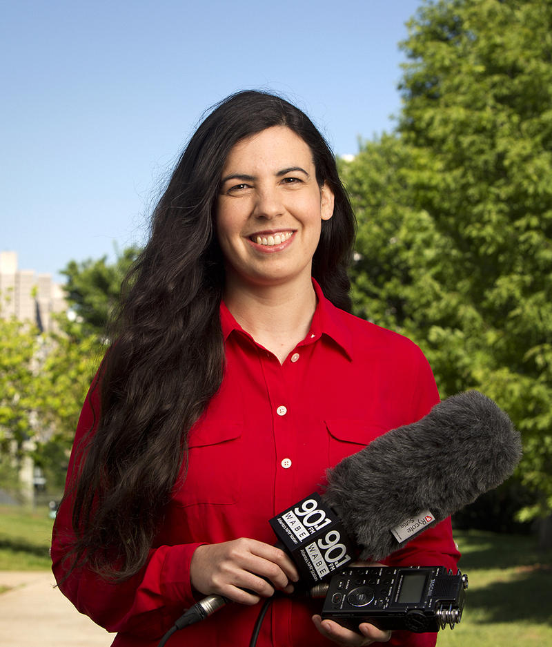 Reporter Molly Samuel