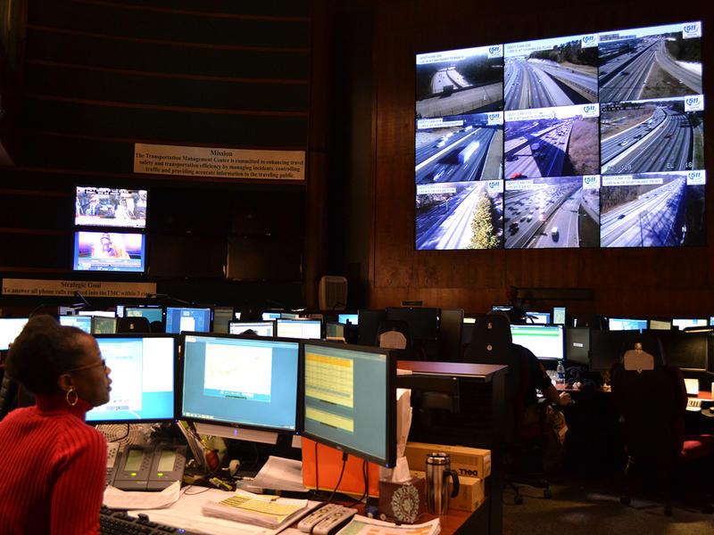 GDOT Transportation Management Center in Atlanta