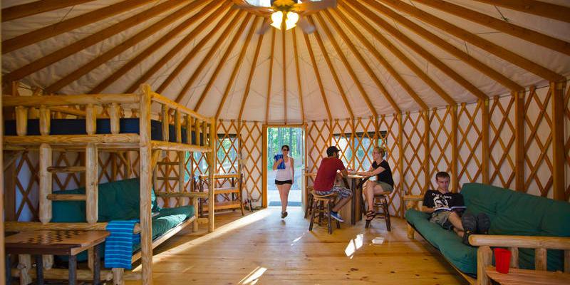 Georgia Park Yurts Are Popular Camping Alternative Wabe 90 1 Fm Main specs for american yurt companies (organized alphabetically). georgia park yurts are popular camping