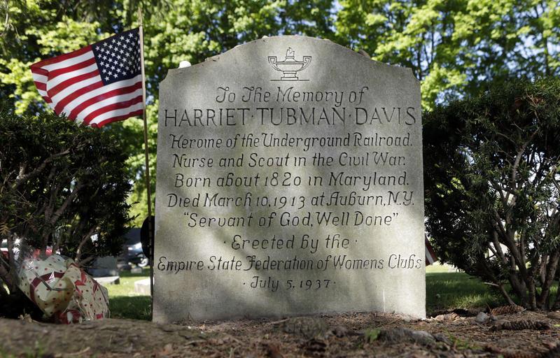 Harriet Tubman's gravestone