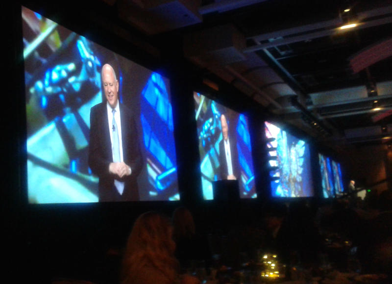 Jeffrey Sprecher, chairman of the Intercontinental Exchange, New York Stock Exchange and 2017 chair-elect of the Metro Atlanta Chamber spoke about the importance of opposing discriminatory bills at the chambers annual meeting on Wednesday.