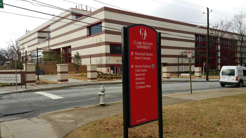Presidents of Clark Atlanta University and Georgia Piedmont Technical College signed a new partnership agreement on Wednesday at Clark Atlanta University's campus.