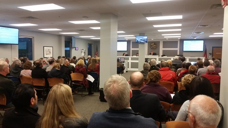 More than 100 people filled Brookhaven's City Council room to hear about the Ashford-Dunwoody Corridor plan Tuesday night.
