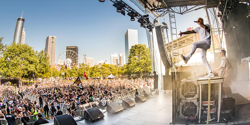 Shaky Beats Festival is rocking Centennial Olympic Park all this weekend.