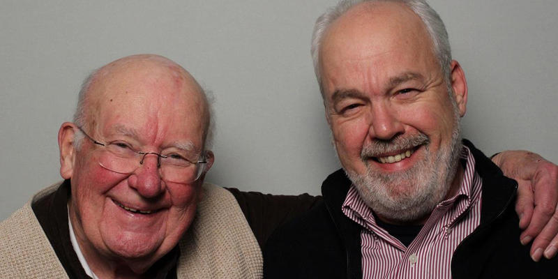 Bill Hagen and his son Mark interviewed each other in the StoryCorps Atlanta booth