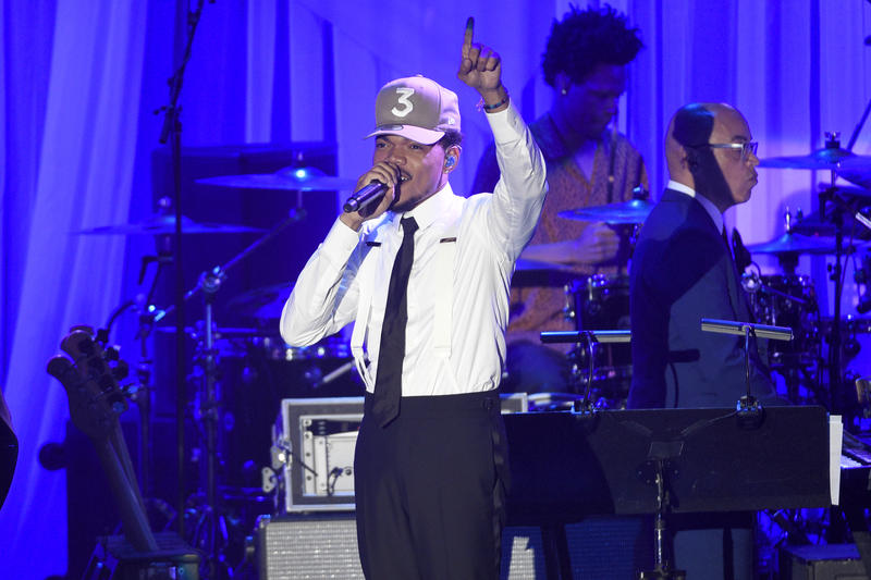 Chance the Rapper will perform at Lakewood Amphitheatre Saturday.
