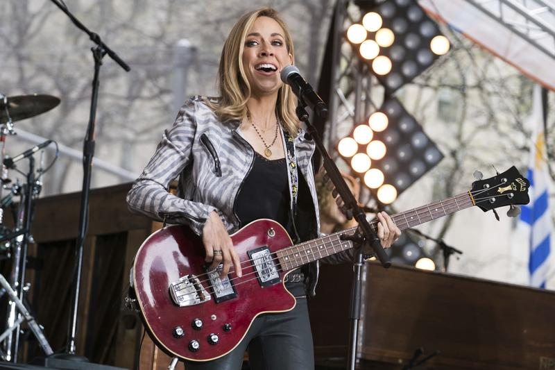 Sheryl Crow will take the stage Sunday at Chastain Park Amphitheatre.