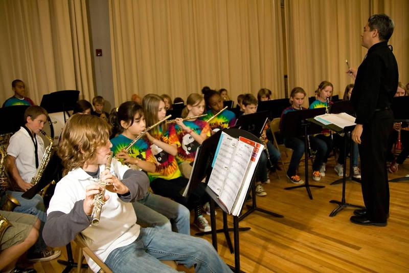 These Georgia public school students were able to study music, but not all schools can afford to offer band, choir and other music classes.