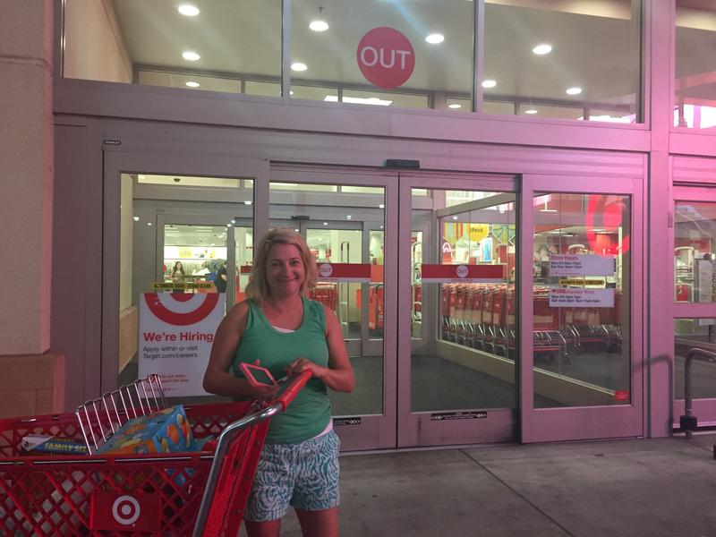 Anne Carter shopped at Target for back-to-school supplies. Georgia lawmakers did not pass a law enacting a tax-free weekend this year.