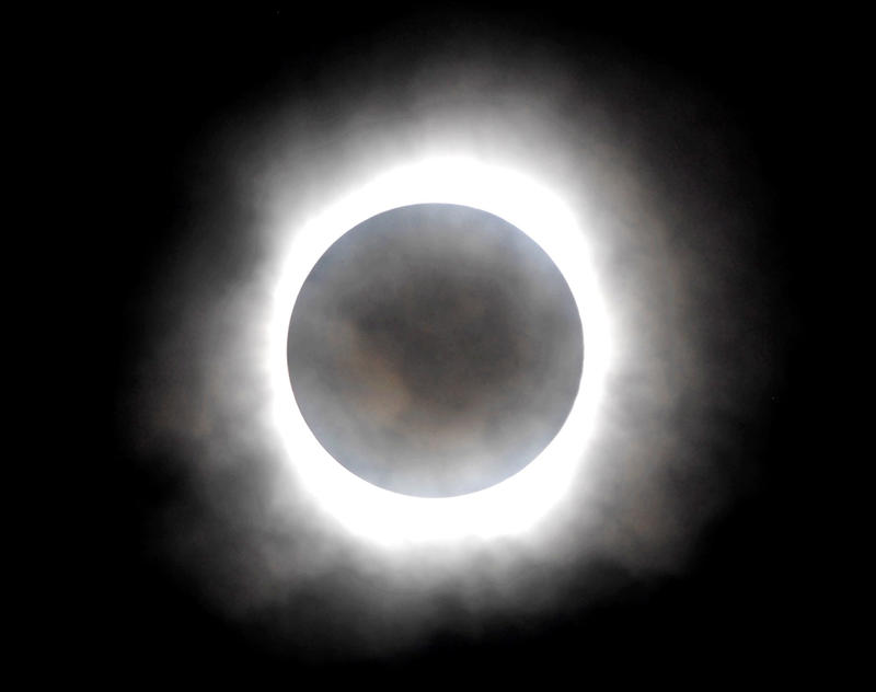 In some places in Georgia the sun will be blocked completely by the moon during Monday's solar eclipse.