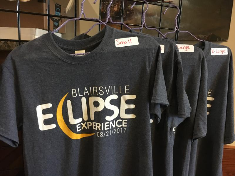 The Blairsville-Union County Chamber of Commerce sold eclipse T-shirts and glasses at its visitor's center last week. Union and Lumpkin County said early estimates show the eclipse resulted in a $250,000 economic impact for their counties.
