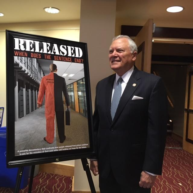 Governor Nathan Deal attended the premiere of the documentary Released at Georgia State University's Rialto Center for the Arts. The film was produced by the US Attorney's Office for the Northern District of Georgia.