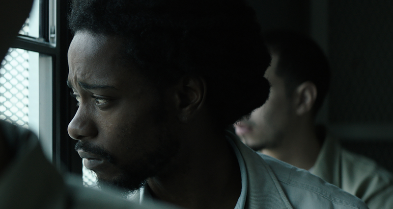 Lakeith Stanfield portrays Colin Warner in ''Crown Heights.''