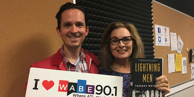 Lois Reitzes speaks with local author Thomas Mullen about his new novel ''Lightning Men,'' today on ''City Lights.''