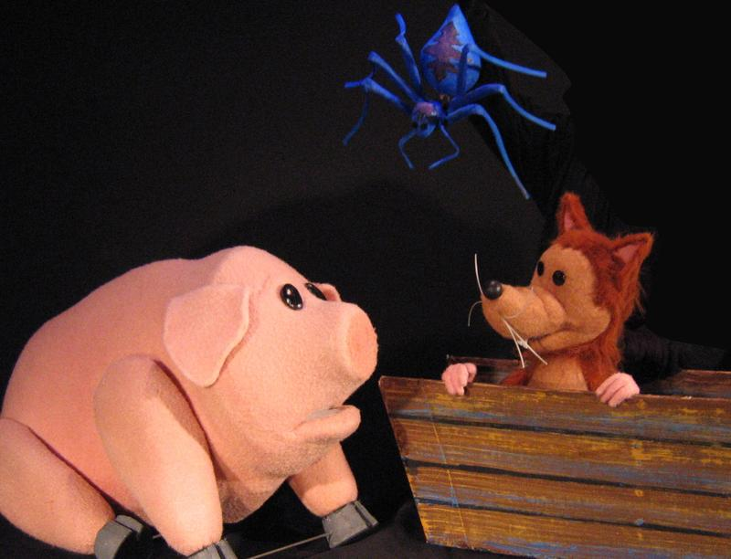 """""""Charlotte's Web"""" opens at the Center for Puppetry Arts on Tuesday."""