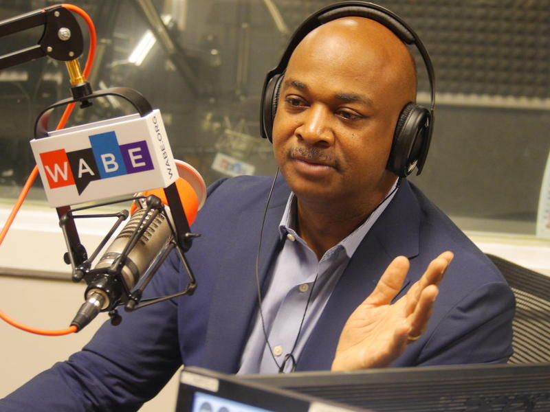 Atlanta mayoral candidate Kwanza Hall spoke with Rose Scott in an ongoing series with the candidates on November's ballot for the city's highest office.