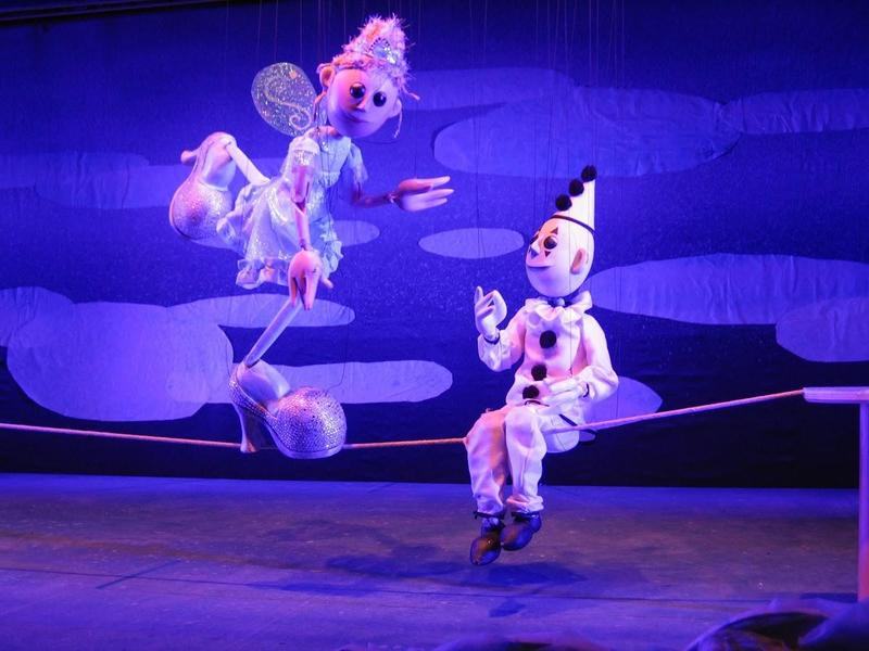 """The Center for Puppetry Arts got an NEA grant for its production of """"Cinderella Della Circus."""""""