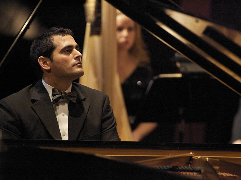 Atlanta-based Syrian-American pianist and composer Malek Jandali in concert