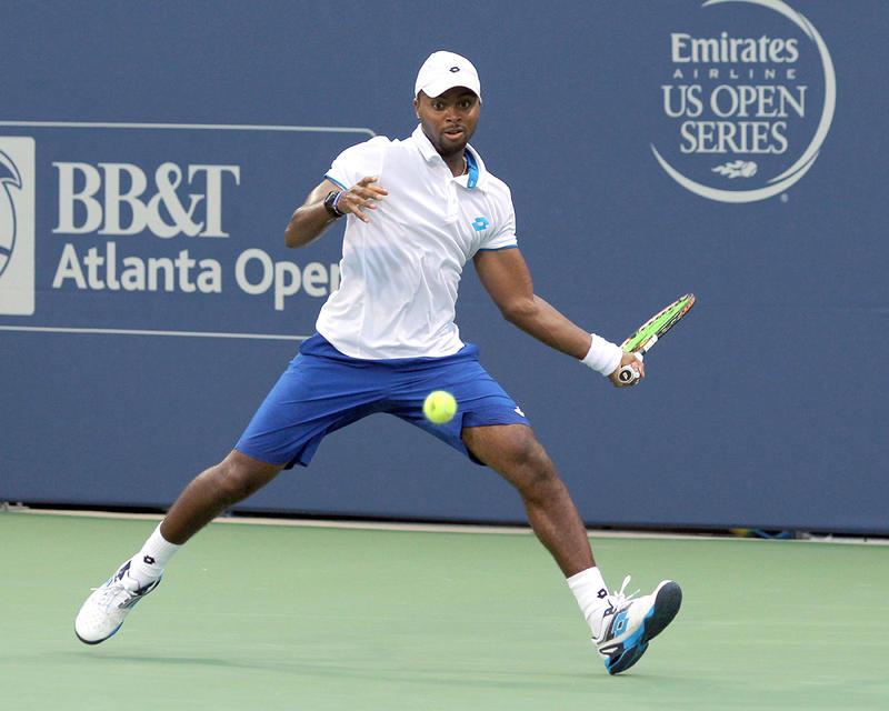 Donald Young at the 2014 BB&T Atlanta Open