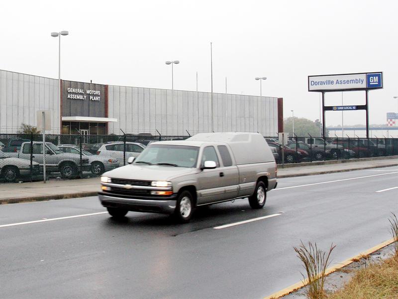 GM plant in Doraville, Ga.