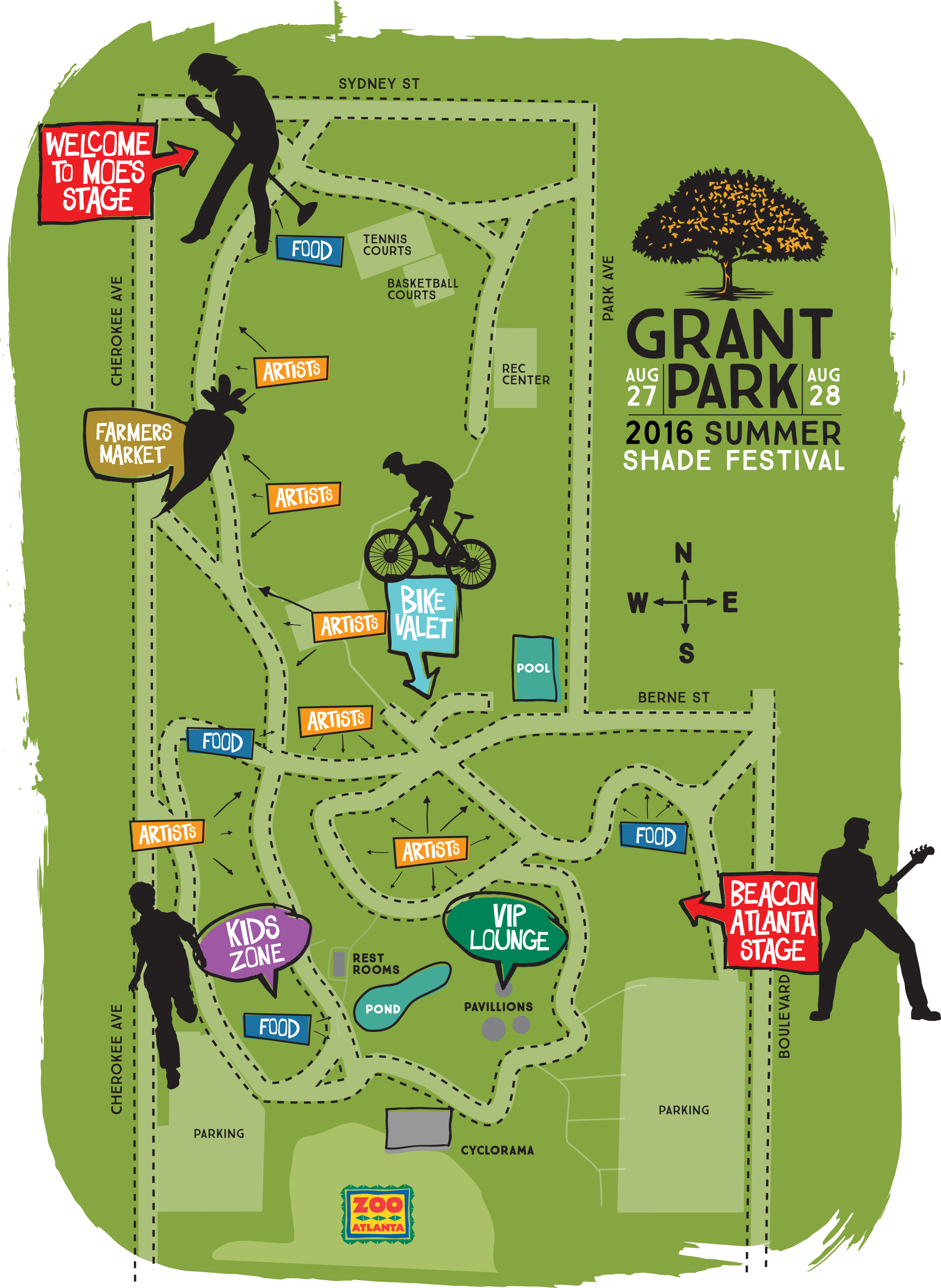 Grant Park Summer Shade Festival Is This Weekend | WABE 90 1 FM