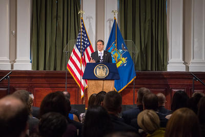 Governor Cuomo Proposes Legislation: Life in Prison without