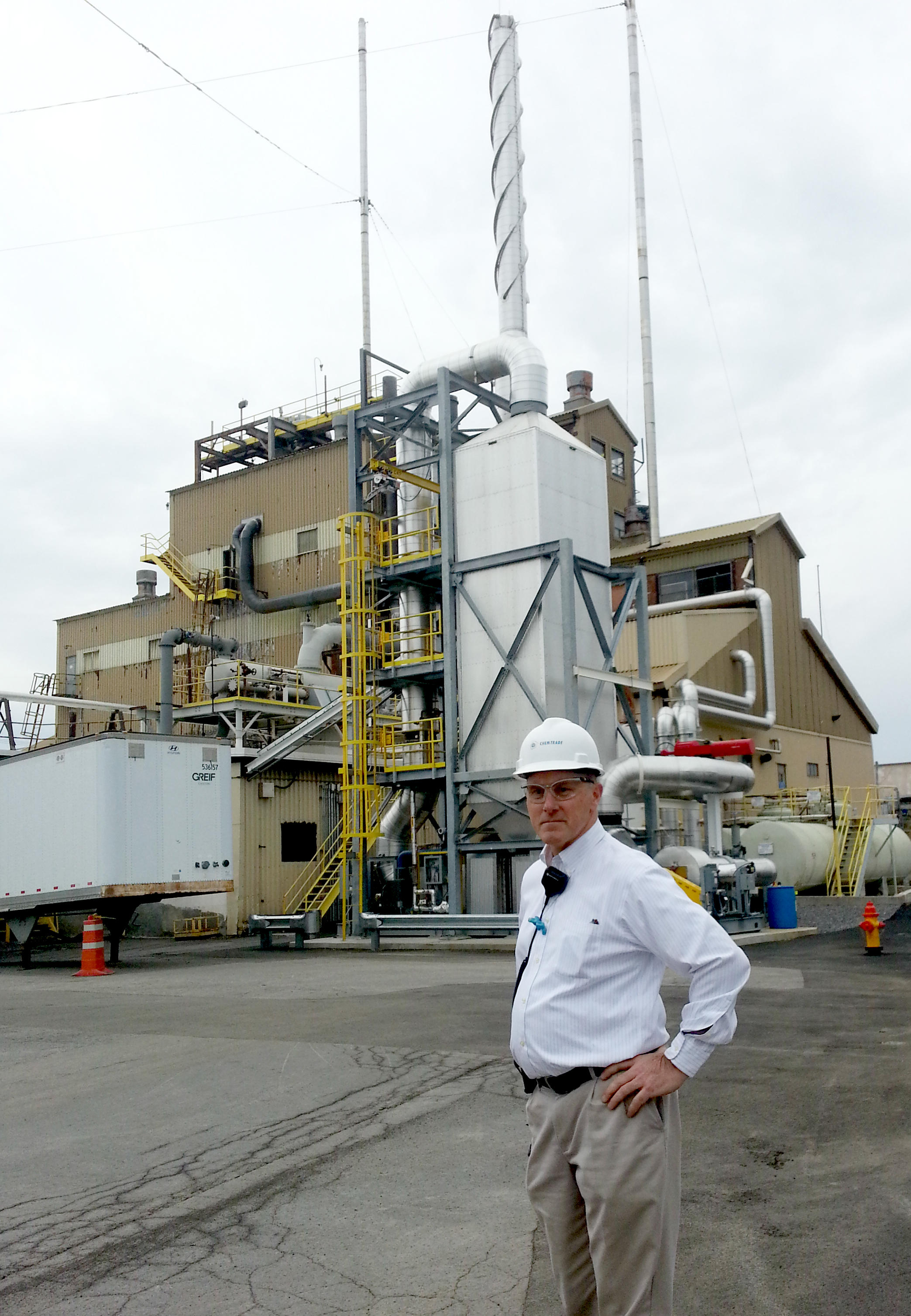 Chemical Plant in Solvay Recognized for Reducing Nitrogen Oxide