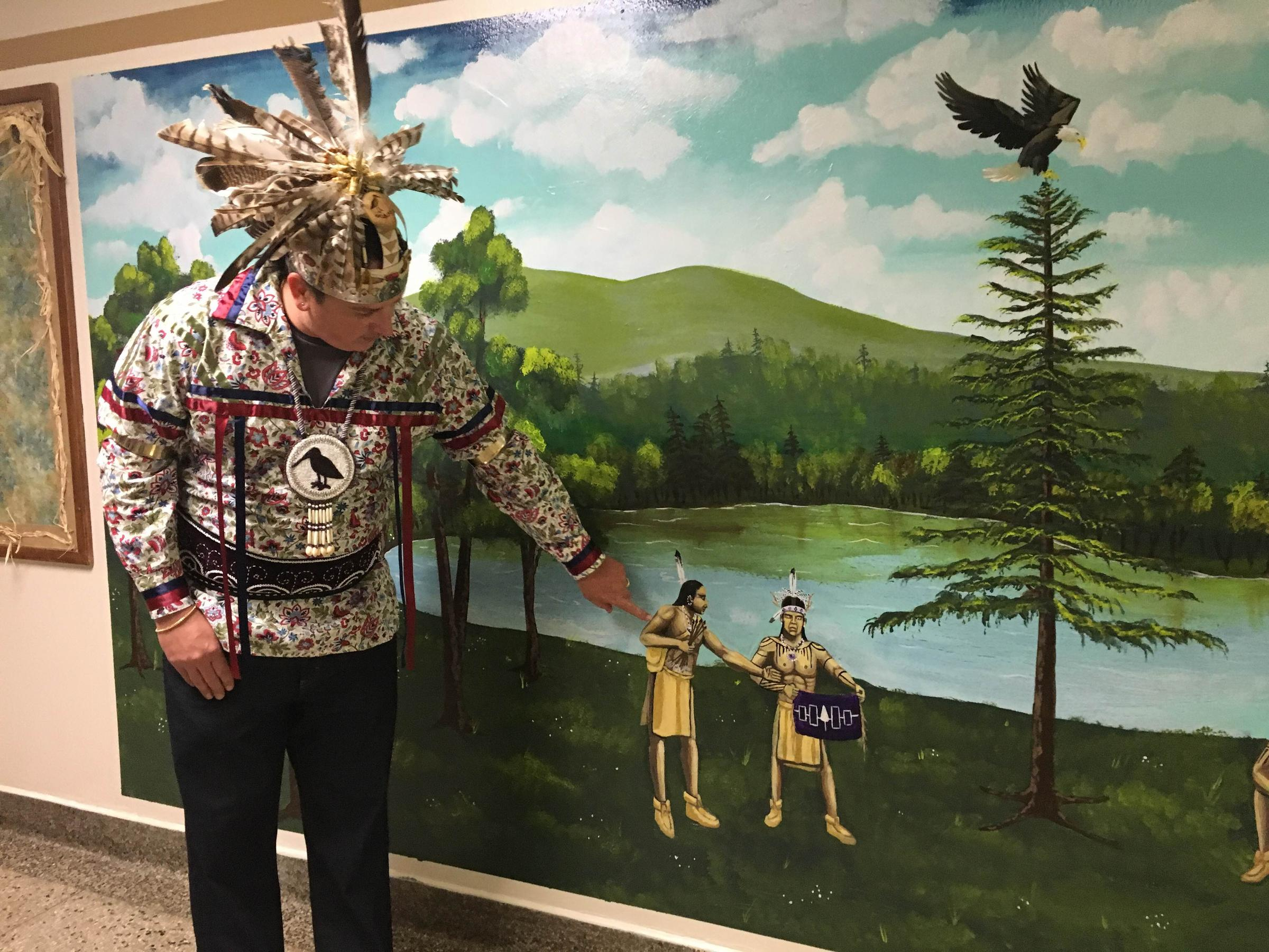 New Mural at LeMoyne Elementary Embraces Native