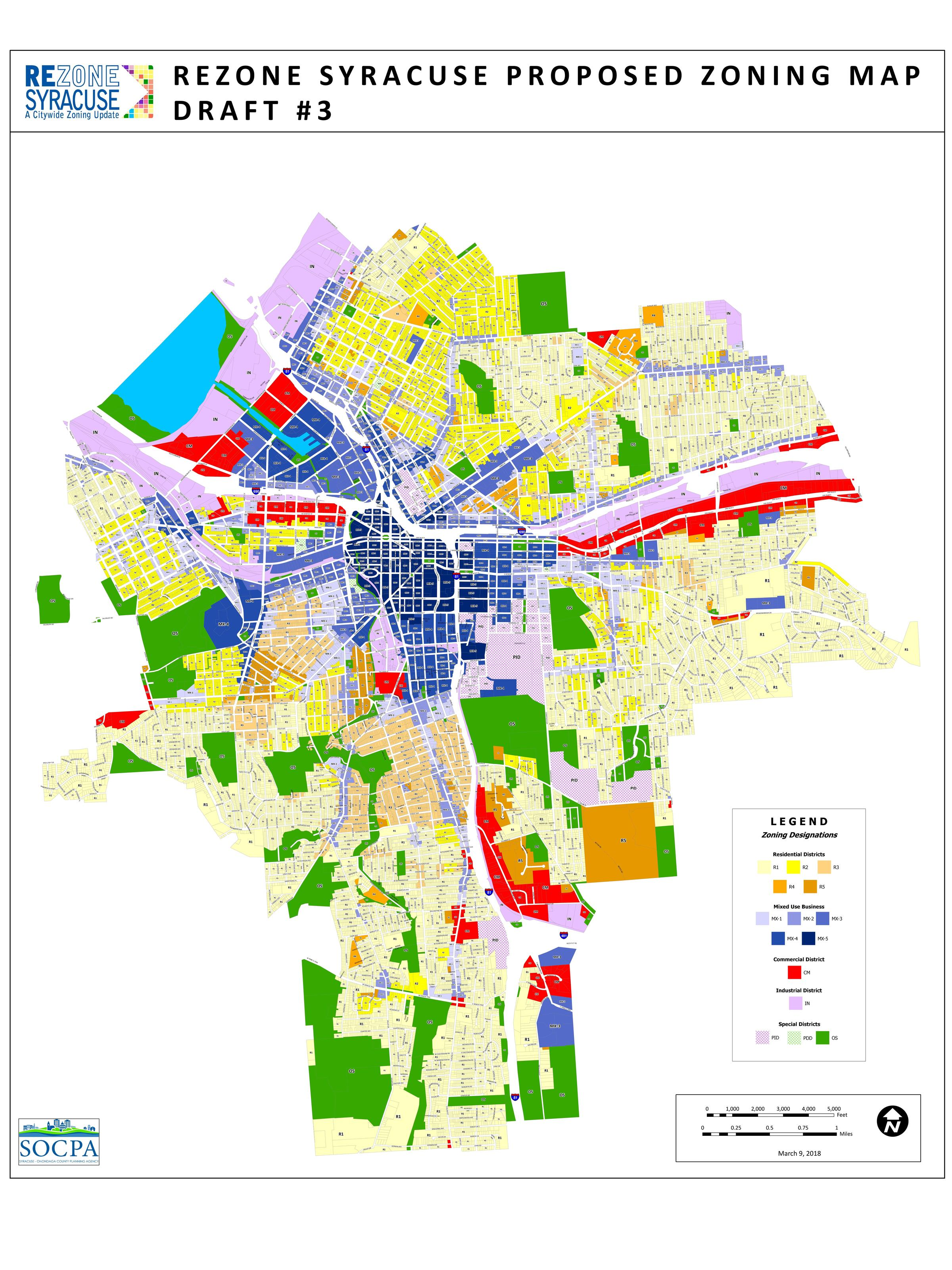 Zoning Map on