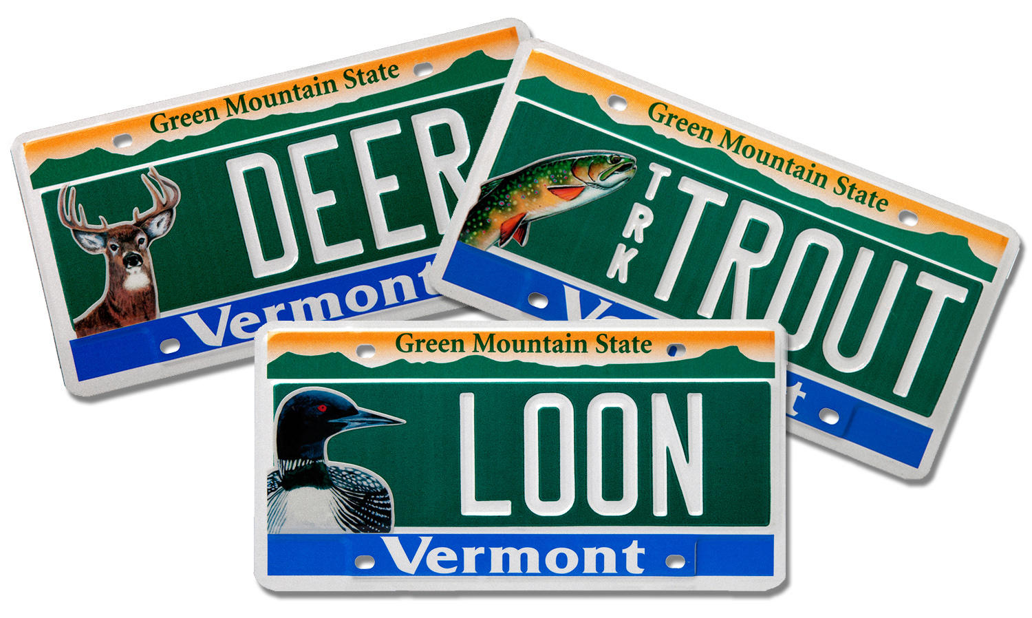 Vermont Unveils New Conservation License Plates | WAMC