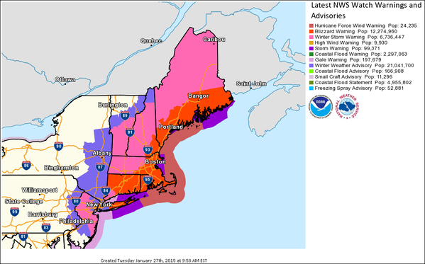 Eastern Parts Of MA And CT Hit Hardest By Storm, Affects