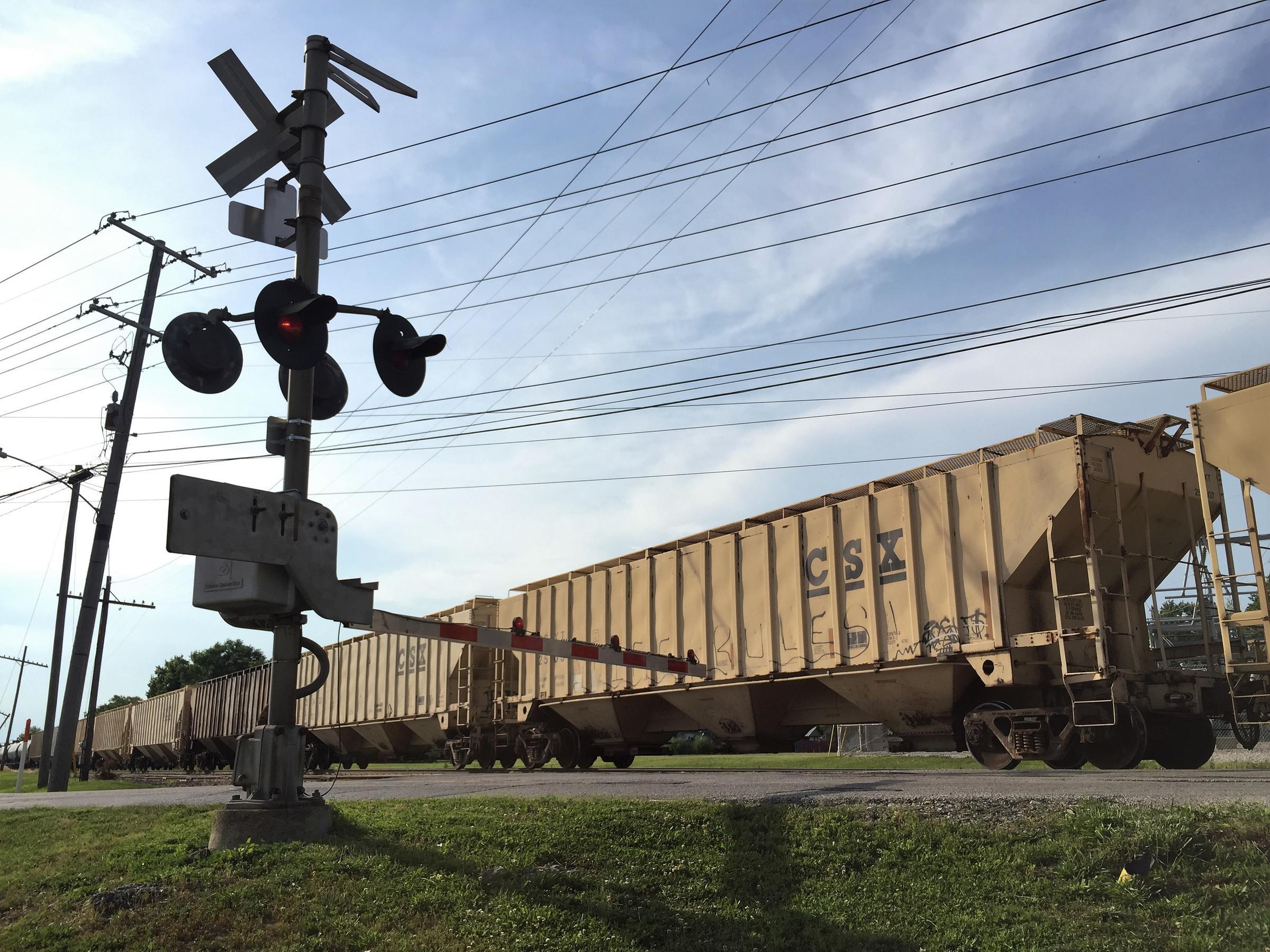 railroad crossing essay