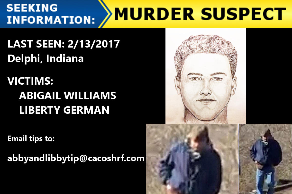 UPDATED: New Sketch, Video And Audio Of Delphi Murder Suspect