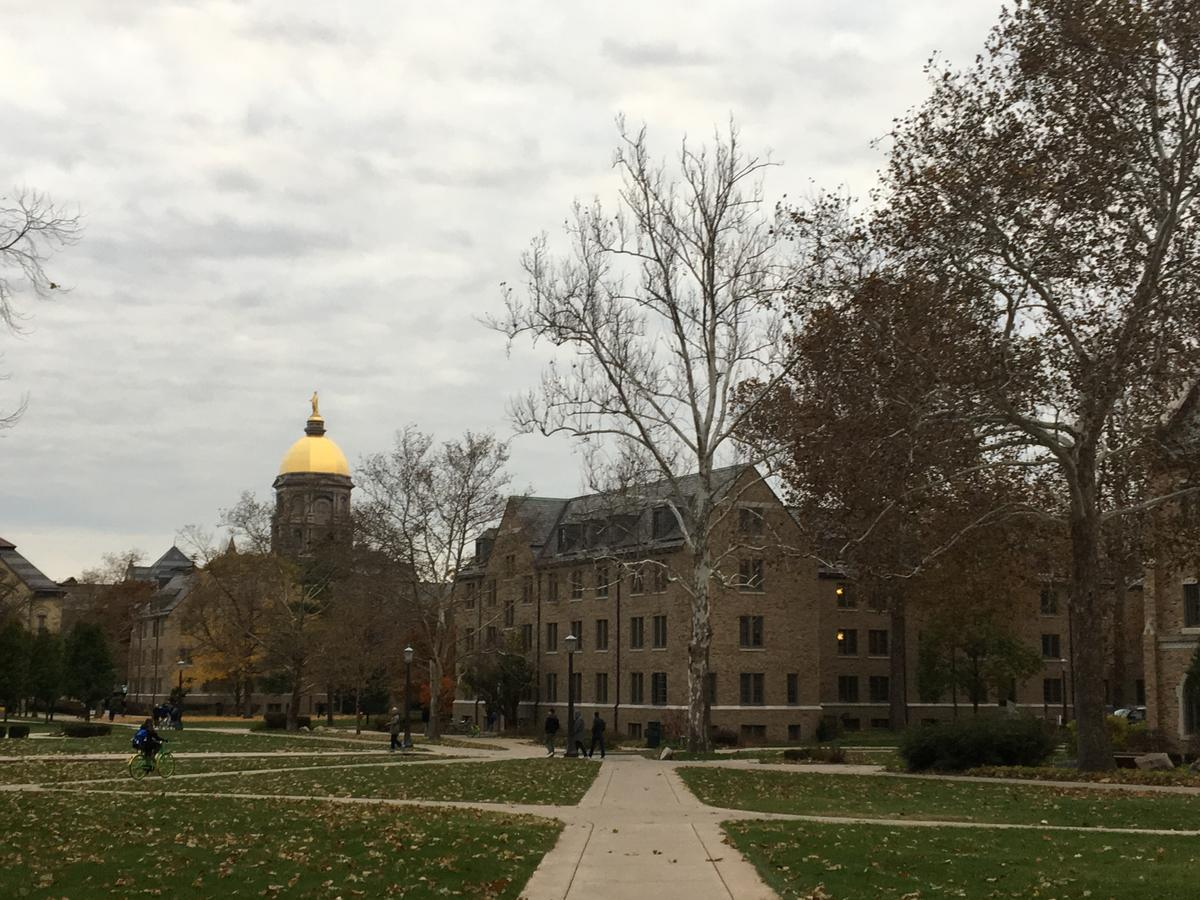 Notre Dame will allow students back on campus for 2020 fall semester