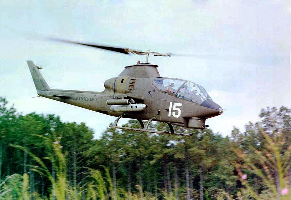 Vietnam-era combat helicopter could become local monument | WBFO