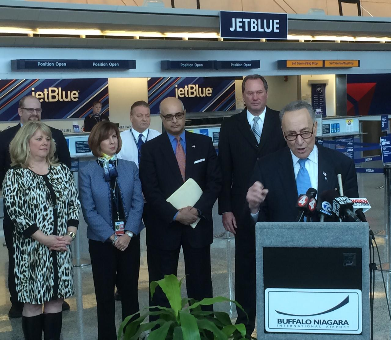 JetBlue to begin direct flights from Buffalo to Los Angeles