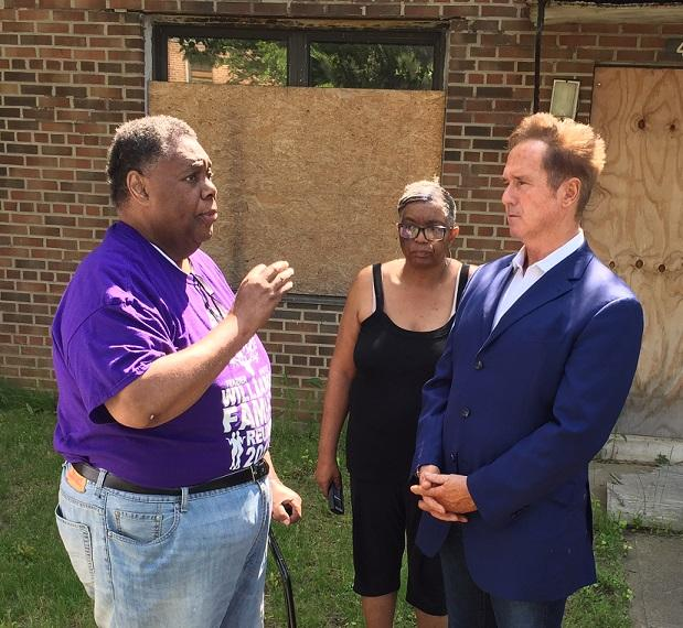 Higgins proposes renovating, not razing Perry Projects | WBFO