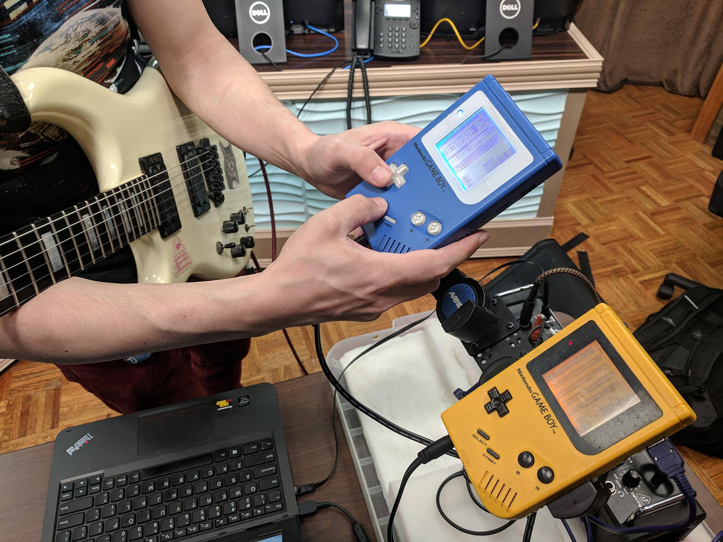 Armed with Game Boys and a guitar, chiptune artist Danimal