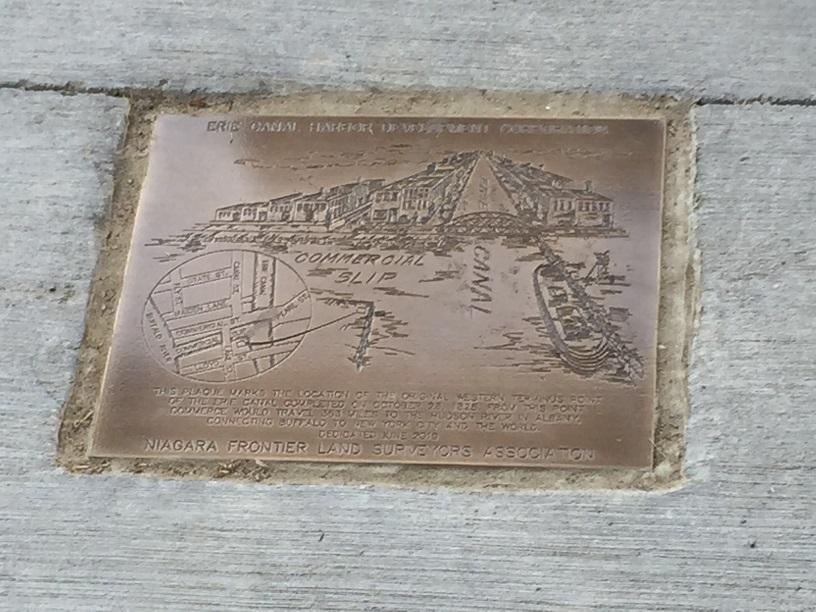 Erie Canal's original western terminus now marked for display | WBFO