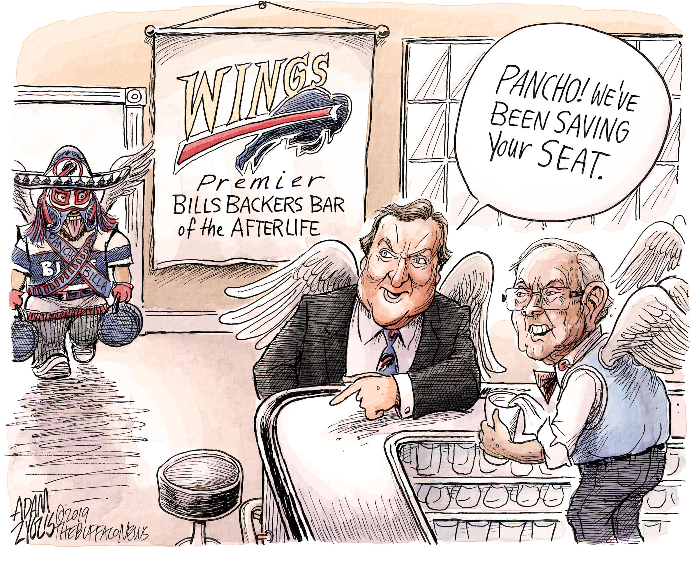 What Makes A Great Editorial Cartoon In 2019 Adam Zyglis Knows Wbfo