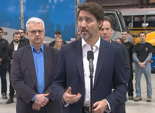 Trudeau creates coronavirus committee to oversee Canada's response to outbreak