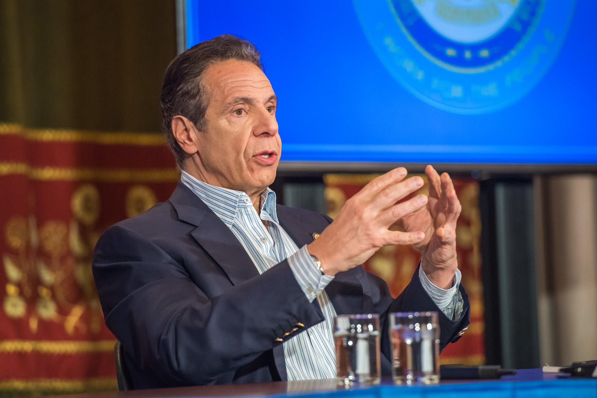 Cuomo Receives Record High Approval Rating For Handling Of Covid 19 Wbfo