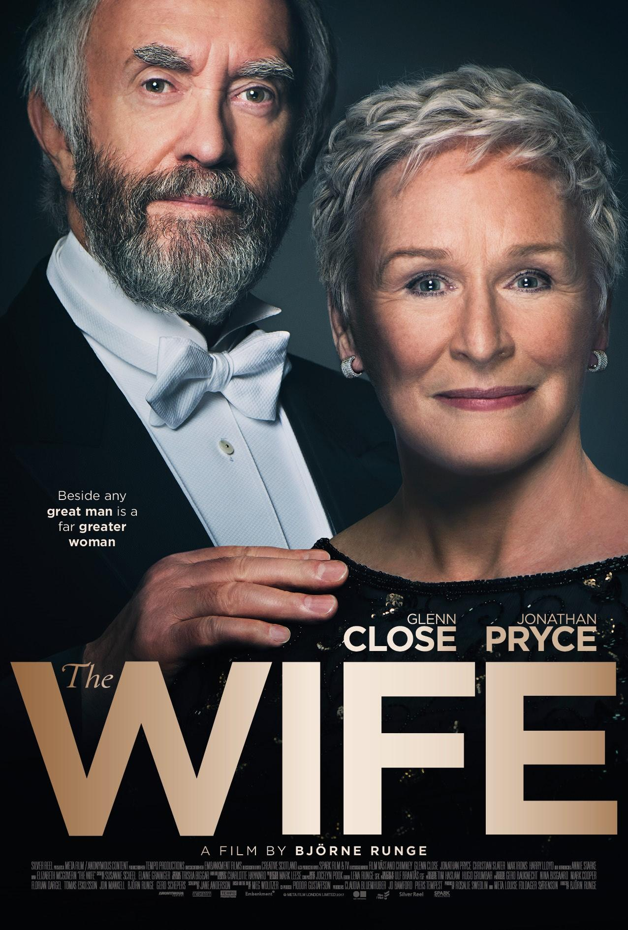 "Film Critic Harlan Jacobson Reviews ""The Wife"" 