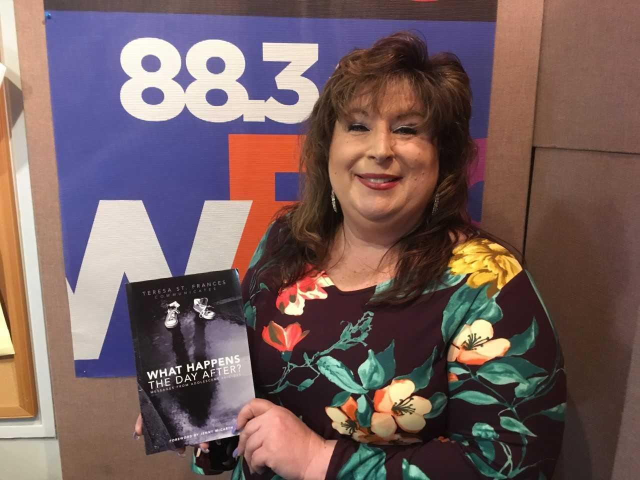 Psychic Medium and Author Teresa St  Frances Wants to Save Lives | WBGO