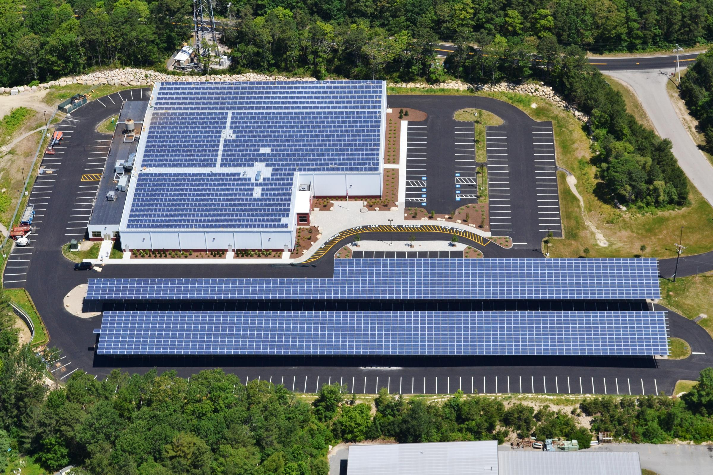 Not Only Does The Newly Constructed Falmouth Ice Arena Have 3 300 Solar Panels On Its Roof And Two Car Ports It Also Is Most Energy Efficient Building