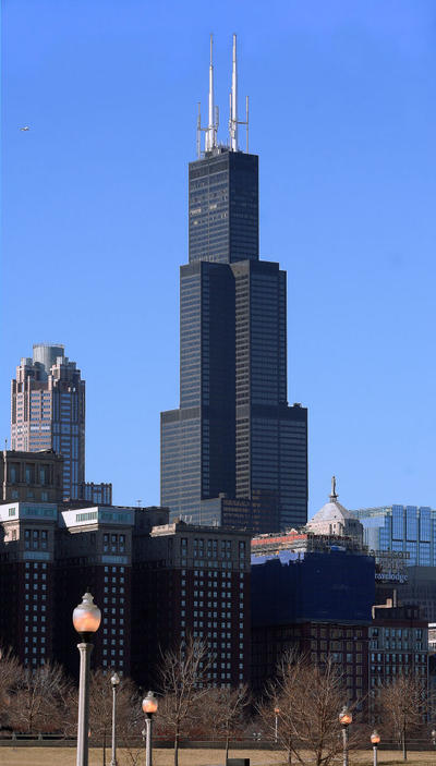 How tall is the sears tower
