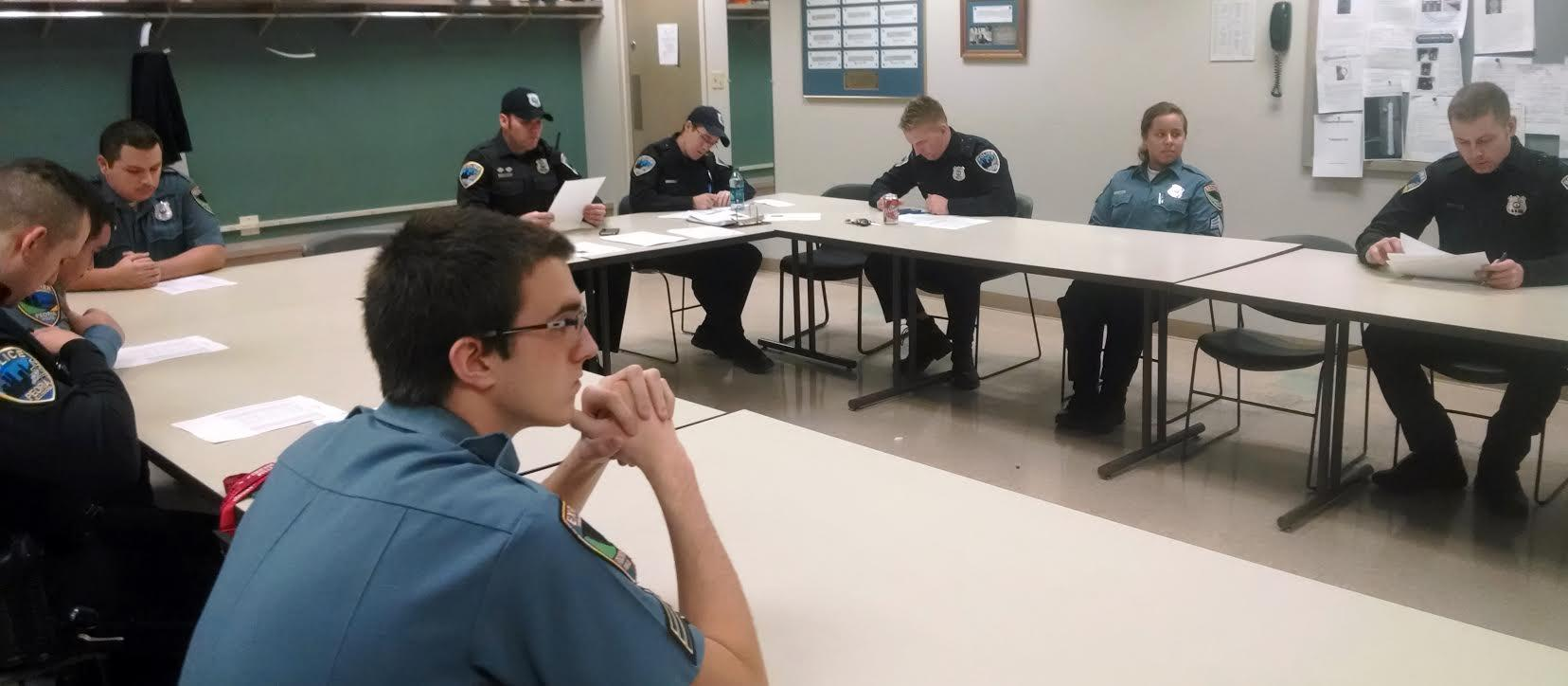 Peoria Police Department celebrates Explorer Program