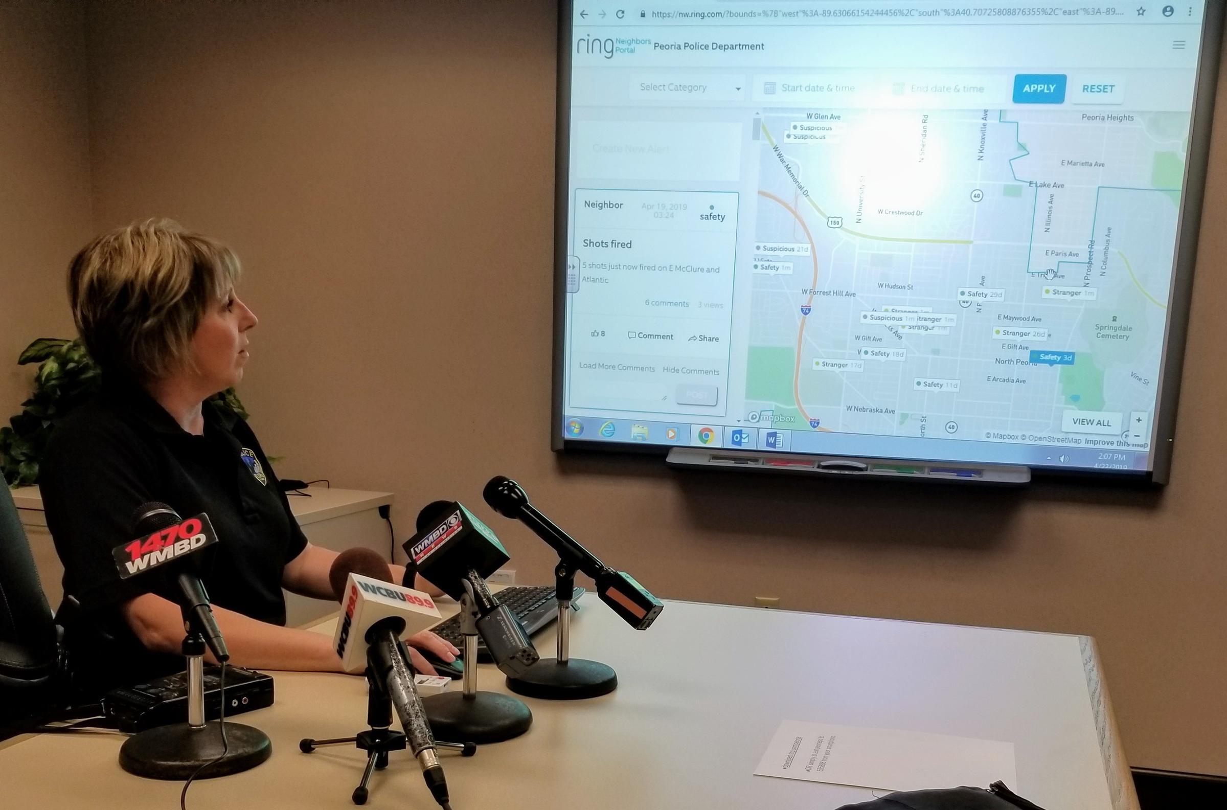 Peoria Police Encourage Neighbors App by Ring | Peoria