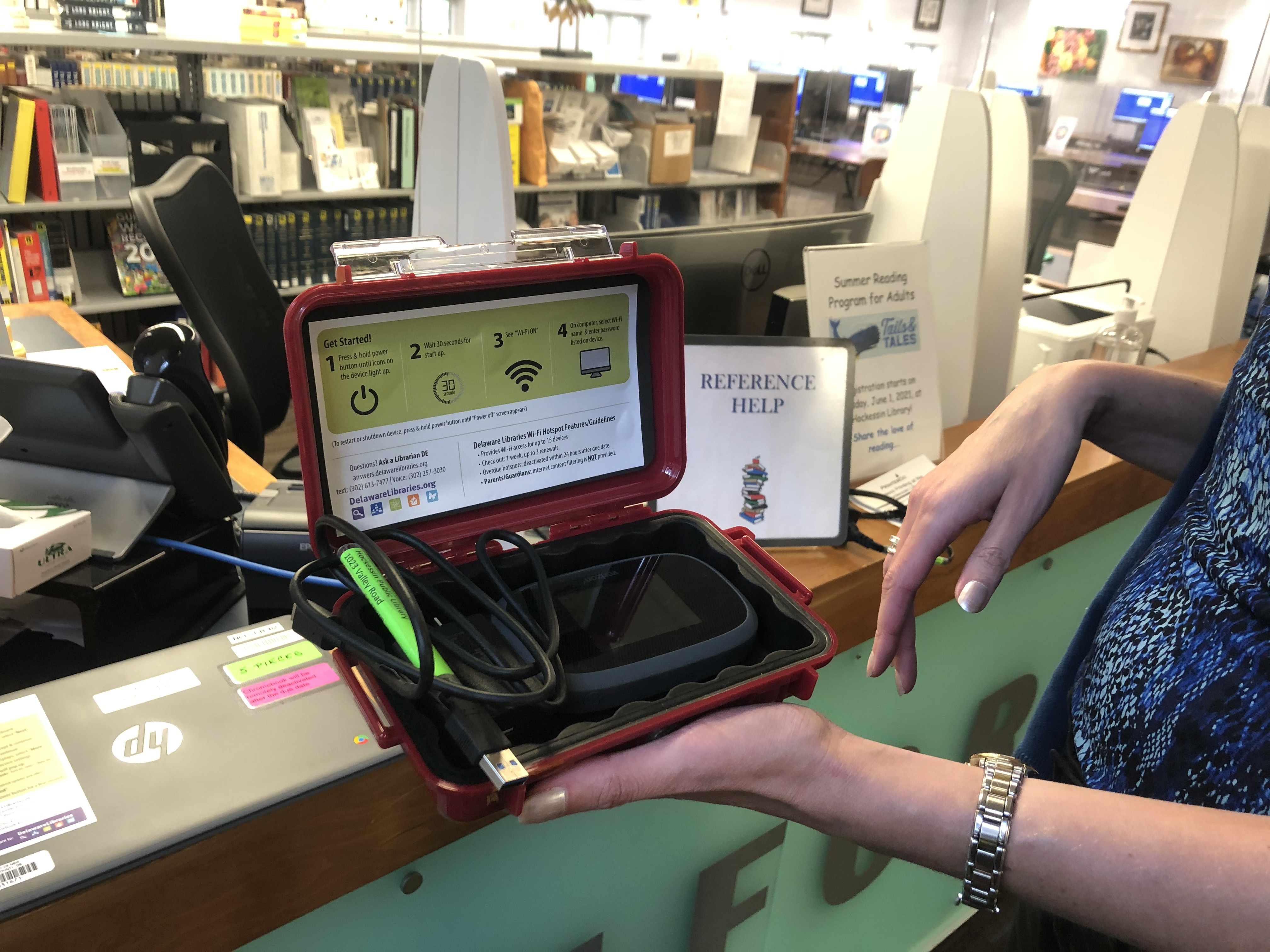 New Castle County libraries lend out WiFi hotspots, laptops in attempt to bridge 'digital divide'
